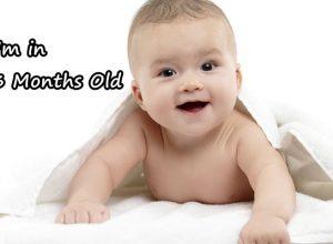 bayi umur 3 bulan ciri-ciri anak yang sehat normal