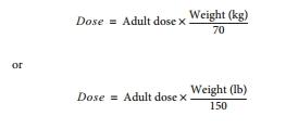 perhitungan dosis rumus clarck